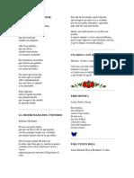 10 Poemas a La Madre