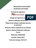 Reporte Metodos Numericos Final