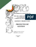 Alternativas de Proyectos de Gestion.