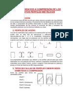 Informe Ensayos a Compresión de Los Distintos Perfiles Metálicos
