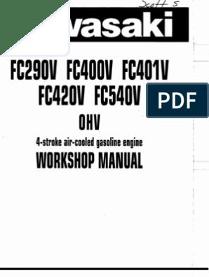 Kawasaki Service Manual on