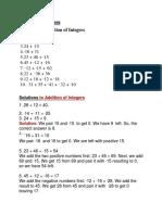 Csc Integers and Grammar