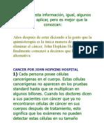 De qué viven las células cancerígenas