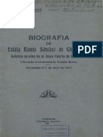 Biografia de Eulalia Ramos, Arístides Rojas