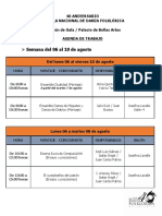 Agenda 6 10 de Agosto