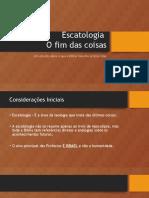 1 - Escatologia