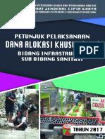 Buku Sanimas DAK 2017