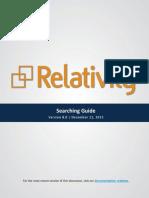 Relativity e discovery tool