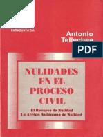 Nulidades Procesales - Antonio Telechea Solis