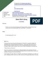 Dawn Birds Song.pdf