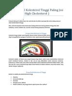 Obat Herbal Kolesterol Tinggi Paling Jos