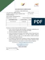 FORMATO CRONOGRAMAS ADMINISTRATIVOS