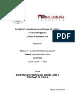 Constitucion Politica de Puebla