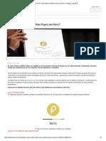 ¿Qué Es El Libro Blanco (White Paper) Del Petro