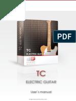 Ilya Efimov TC Electric Guitar Manual