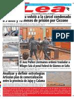 Periódico Lea Miércoles 08 de Agosto Del 2018