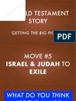 Old Testament  Story Part 3