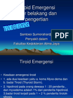 Tiroid Emergensi-dr. Santoso