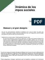 Dinamica de Los Campos Sociales