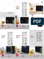 Microwave Oven Catalogue 3