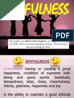 Anek Joyfulness Presentation
