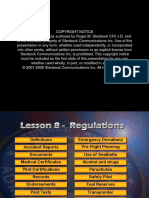 CFI Lesson 8 Regulations