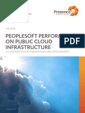 PeopleSoft Performance on AWS vs Azure vs Oracle Cloud | Cloud