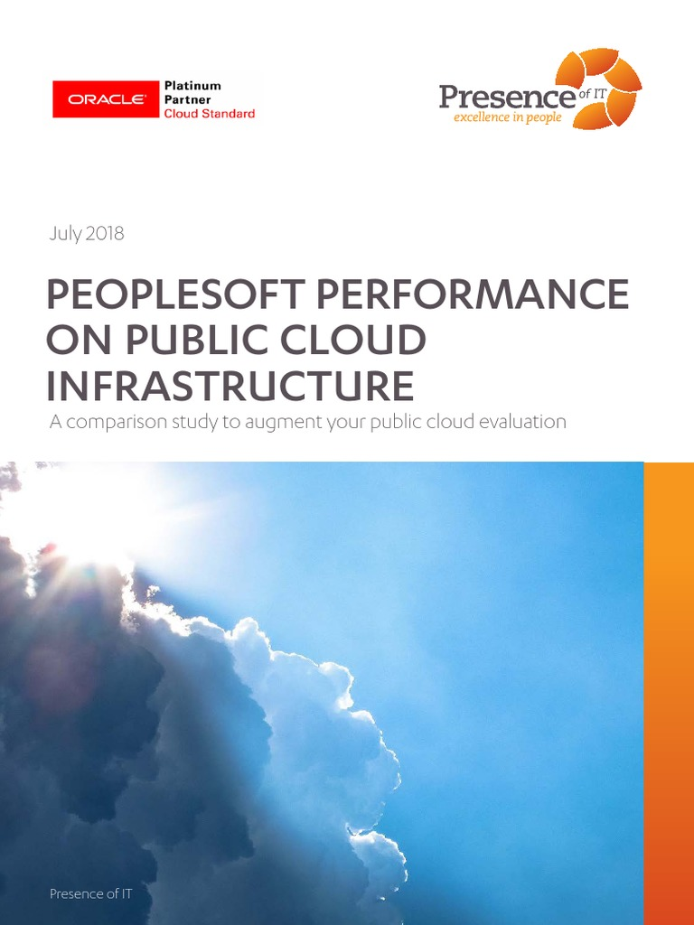PeopleSoft Performance on AWS vs Azure vs Oracle Cloud | Cloud