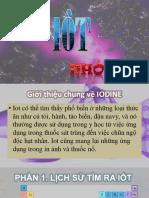 Thuyết trình về Iot - Hóa 10