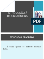 Aula 1 Introducao Bioestatistica