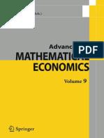 Advances in Mathematical Economics, Volume 9