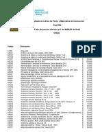Lista Precios Alfabetica Marzo 2018 Paltex