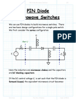 PIN Diode   Microwave Switches