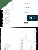Calderon - Pasolini