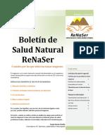 Boletin RENaSer Julio 2018