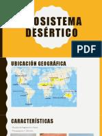 Ecosistema desértico