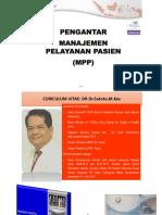 Dr Sutoto - Pengantar Manajemen Pelayanan Pasien