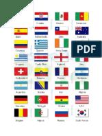 Banderas Del Mundial