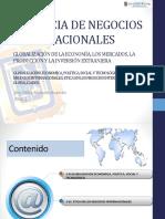 Economías Globales.