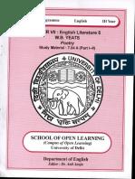 B.A.(H) Eng Part-3 English Literature-5 W.B. YEATS SM-7.04 A (PartI-II).pdf