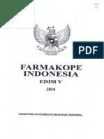 Farmakope Indonesia Edisi V