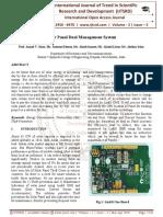 Solar Panel Dual Management System
