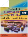 A Textbook of Pharmacology for Dental and Allied Health Science Students-P.udaykumar
