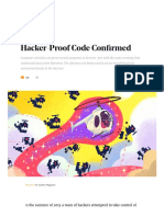 Formal Verification Creates Hacker-Proof Code