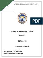 Studymaterial.doc