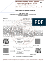 Chaos Based Image Encryption Technique
