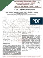 Autonomous Voice Control Pick and Place Rover
