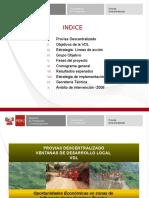 Presentación Ventana Desarrollo Local - Cajamarca