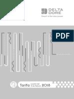 Tarifa Delta Dore 2018