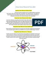5 Pengertian Atom Menurut Para Ahli